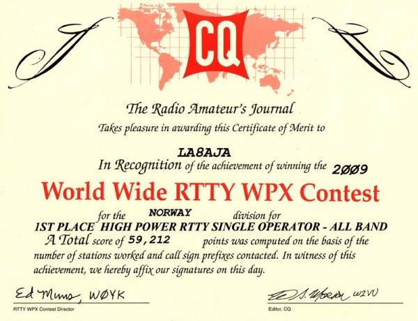 wpx_rtty_2009_diploma